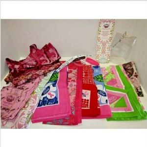 Ford & Lily Pulitzer Scarves, Handkerchiefs & More